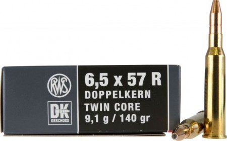 RWS 6,5x57R Twin Core 140 gr - 20 Stk