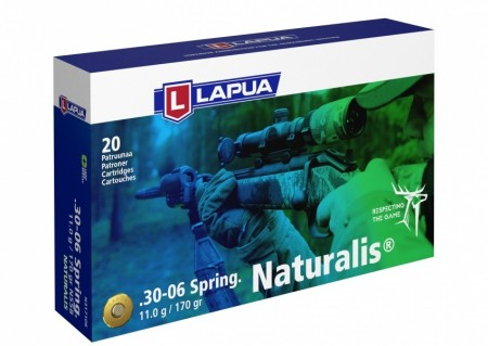 Lapua 8x57 IS Naturalis 11,7g - 20 stk