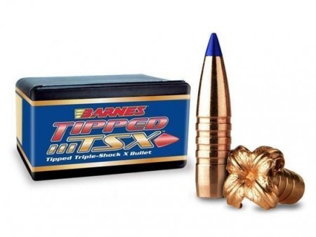 BARNES TIPPED TSX BULLETS 6,5mm / 100grs TTSX BT - 50 stk