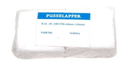 Pusselapper kal 30 / 64x64mm