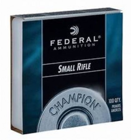 Federal Tennhetter Small Rifle 205 - 100 stk