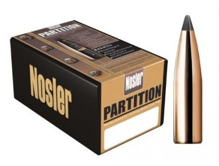 7mm Nosler Partition 160grs - 50 stk