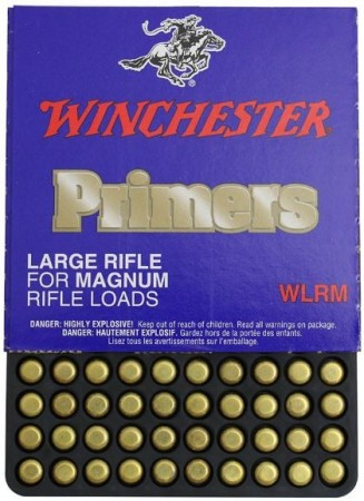 Winchester Tennhetter Large Rifle Mag. - 100 stk
