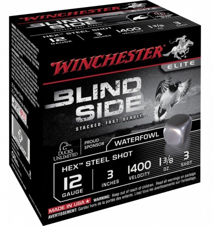 Winch. Blind Side 12/76 39g STÅL - 25 pk
