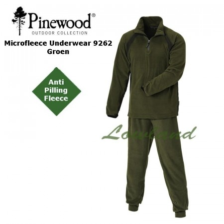 Pinewood Fleece undertøyset