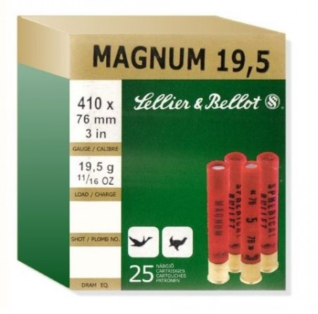Sellier & Bellot Red 410/76 19,5g US4 - 25 stk