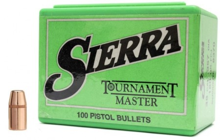 .38 Sierra Tournament Master 170grs FMJ - 100 stk