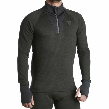Termo Roll-neck with zip Dark Green