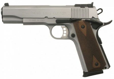 Tanfoglio Witness 1911 Custom Chrom 45ACP