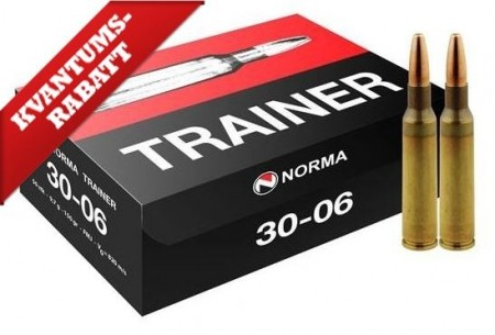 Norma 30-06 Trainer 9,7g - 50 stk