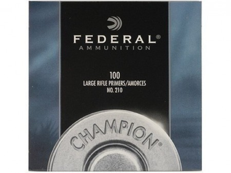 Federal Large Rifle Primers - 100stk
