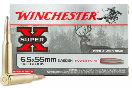 Winchester 6,5x55 Power-Point 140grs - 20 stk