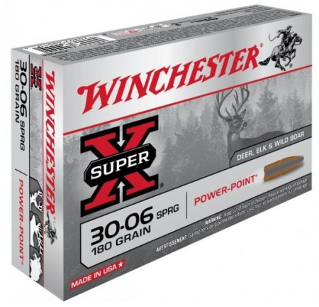 Winchester 30-06 Power-Point 180grs - 20 stk