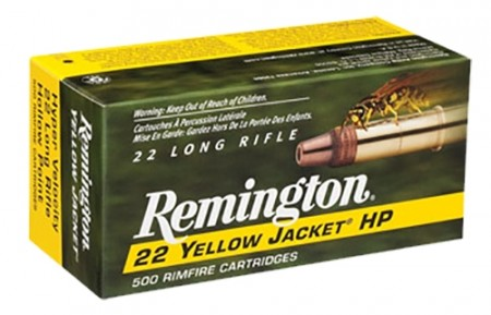 Remington 22lr Yellow Jacket HP