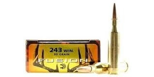 Federal 243Win Fusion 95grs SP - 20 stk