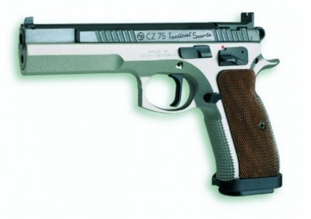CZ 75 Tactical Sporting 9mm