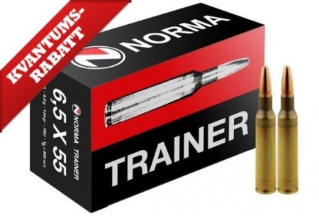 Norma 6,5x55 Trainer - 50 stk